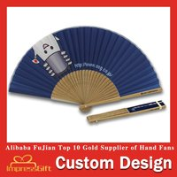 Customise Design Bamboo Gift Fan