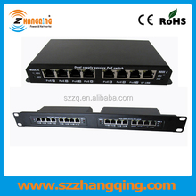 Mini 8 ports POE switch 48V 24V, PoE switch for Access point IP camera IP phone