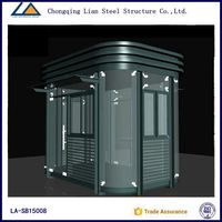 Good quality light steel structure guard house