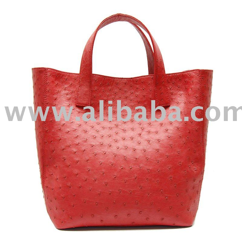 Genuine Ostrich Skin Handbag - Spring / Summer 2010 Collection