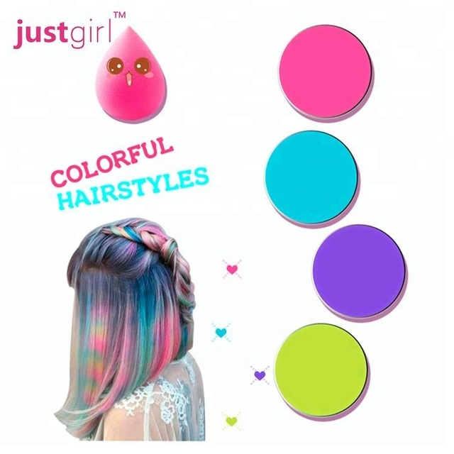 Fashion temporary watercolor hair chalk hair coloring powder for party
