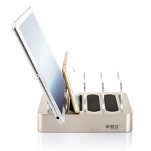 Multi ports usb charger 4 port charging station for mobile charging stand