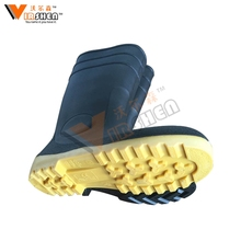Professional unisex rubber rainboots custom women gumboots rain proof shoes