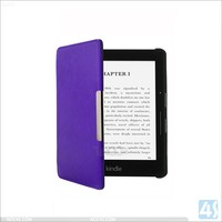 All-New Kindle Voyage 2014 (7th Generation) PREMIUM Leather SLIM Book Folio Case cover Protector