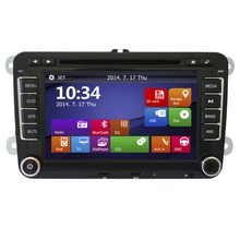 2din 7inch screen car gps navigation for most vw car