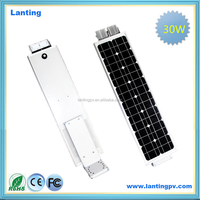 High efficiency Sunpower panel solar energy street lights at wholesale price