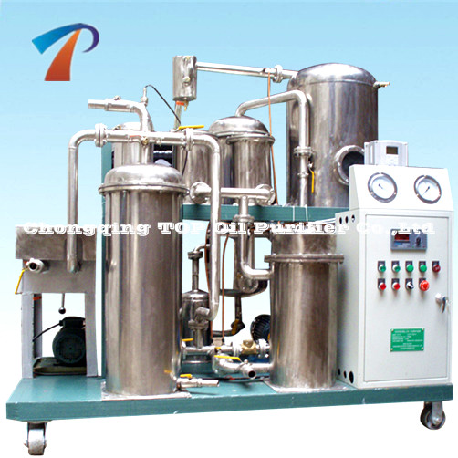 Deft Design Phosphate Ester Fire-resistance Oil Recondition System/Anti-ignited Oil Filter Machine/Fyrquel EHC Processing Plant