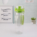 china mlife plastic fruit infuser bottle with custom logo FDA bpa free