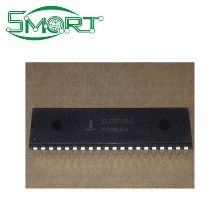 Smart Electronics High Quality IC Components Price List ICL7107CPL ICL7107CPLZ LCD Power Supplies Drive IC