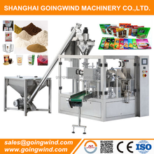 Zip lock bag powder filling machine stand-up zipper doypack flour packing machine good price for sale