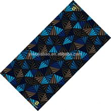 Polyester Tube Soft Fabric Swiss African Headtie