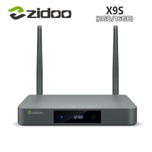1Chip Android 6.0 and OpenWRT(NAS) dual OS ZIDOO X9S smart tv box