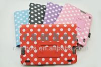 For Amazon Kindle Fire HDX Polka Dot 7 inch Folio Leather Cover Case