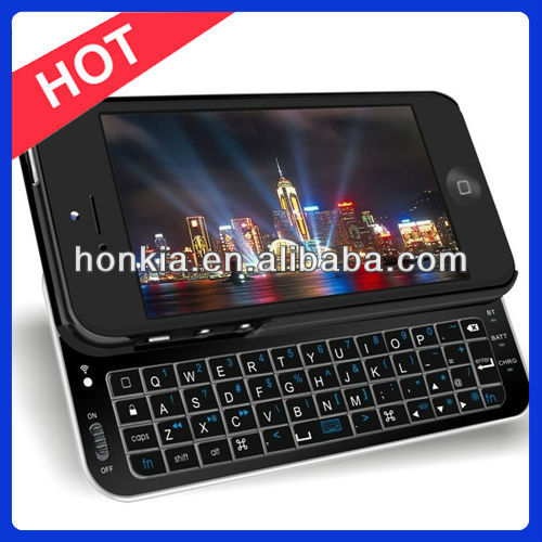 New Arrival Bluetooth Slideout Keyboard for iPhone 5 Keyboard