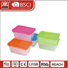 Restaurant used 750ml PP Bento box containers