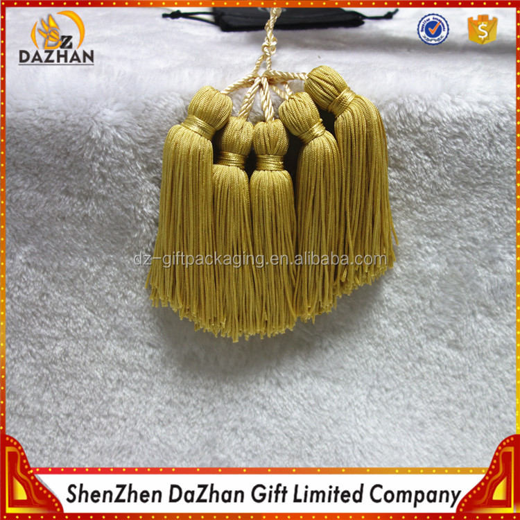Good Design Gold Chainette Tassel Handmade Tasse For Jewelry