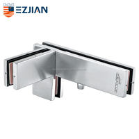 special shape glass patch fitting glass door hinge