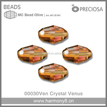 Original Preicosa Olive MC Crystal Beads, Art.451 29 901
