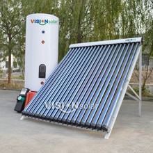 High quality split pressurized home solar systems with heat pipe collector