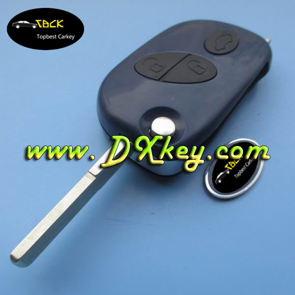 High quality 3 buttons smart car key cover 0523 style with battery place for maserati car keys maserati key