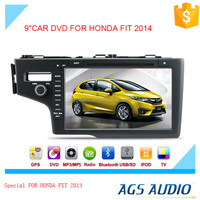 touch screen car dvd mp3 mp4 player for HONDA FIT with reversing camera/car cassette/cd dvd/gps