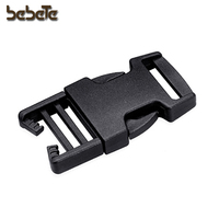 baby carriage lock curved plastic buckle 20 mm