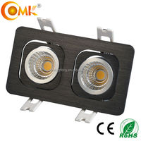 Buy COB trimless led downlight with one/two/three heads in China ...