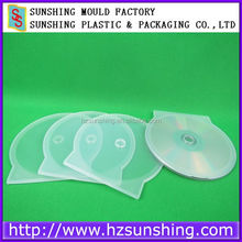 Factory Price PP Plastic 12cm Round Cd Case