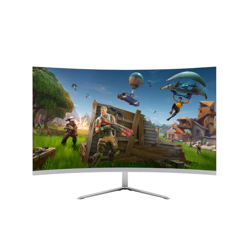 FHD Gaming Monitor 24 inch Curved Led Monitor