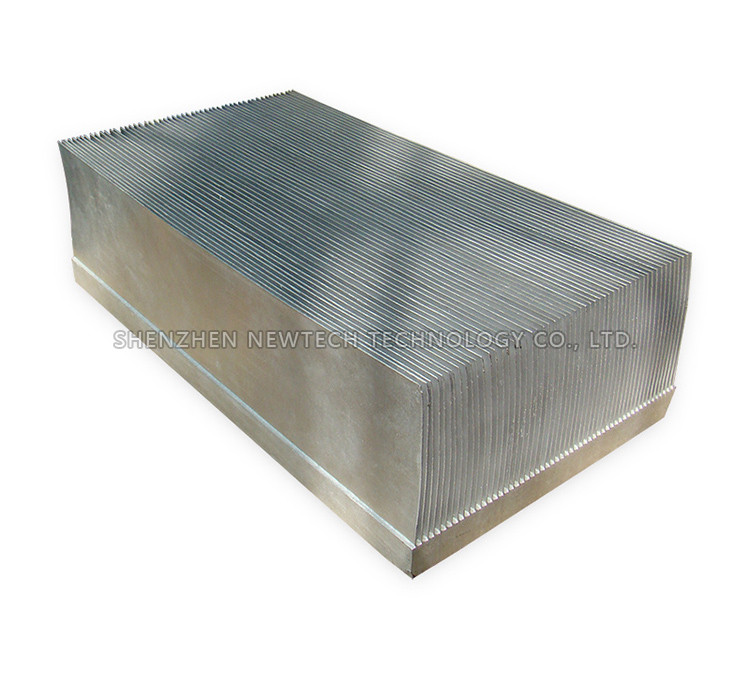 Coonong brand extruded /bonded/skived fin heatsink for the transistor