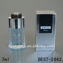 10ml mini square glass french perfume brands bottle