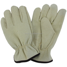 Brand MHR cow leather welding gloves reinforced skin colour gloves