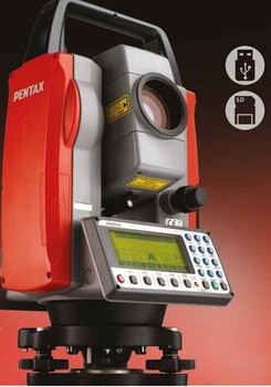 Estacion total Pentax R-423VN Total Station with SD card