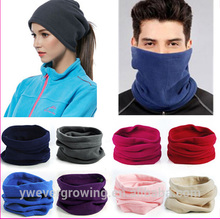 New Multifunctional 3 In 1 Scarf Unisex Thermal Warm Fleece Snood Scarf Neck Warmer Beanie Ski Balaclava Hat