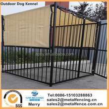Outdoor Dog Kennel with Cover Knitted Screen Sun Shade Cloth UV