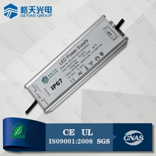 High PF IP67 Waterproof 36-54V 1800mA 100W LED Driver Power Supply