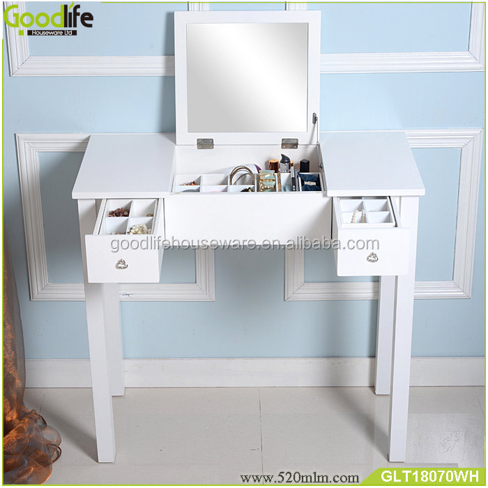 Bedroom furniture mirrored furniture console table with mirror wholesale