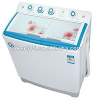 Low noise rotary washing machine
