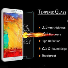 9H Hardness 0.3mm Proof Tempered Glass screen protector flim For Samsung Note 3 Made in china
