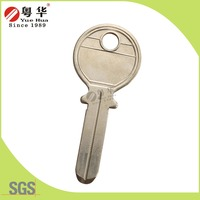 Dimple door blank key