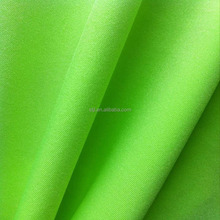 Shantou factory good seller shiny 160-210gsm 85 nylon 15 spandex swimwear leggings knit fabric