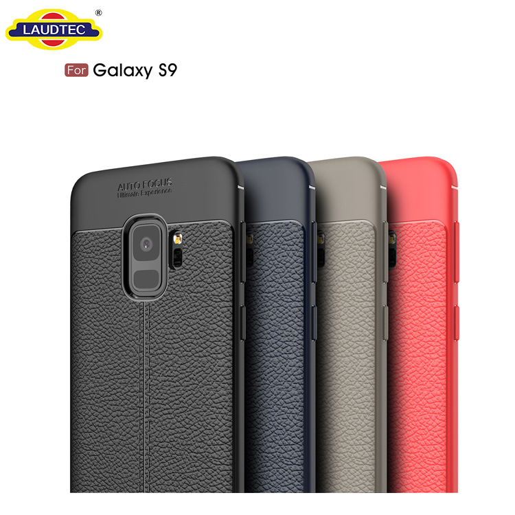 For Samsung Galaxy S9 Case,Lychee PU Leather TPU Soft Back Case Cover for Samsung Galaxy S9