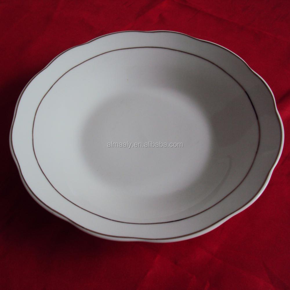 Wholesale Porceline Plate Disposable Plates Compartment Dinner Plates Buy P