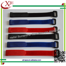 100% Nylon Colorful Adhesive Reusable Hook and Loop Book Strap