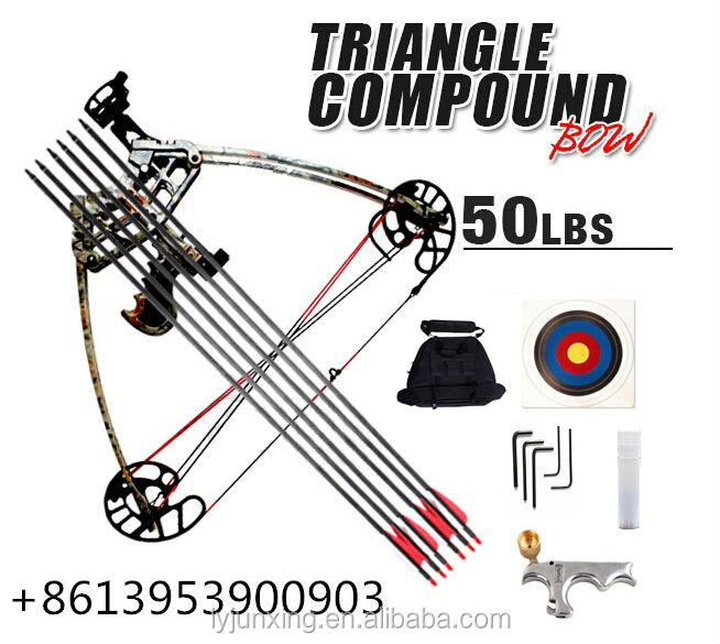 JUNXING ARCHERY--- M109 Triangle bow,compound bow,delta bow,bow kit