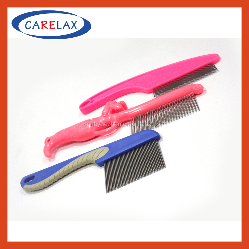 Hot sale pet stainless steel lice comb