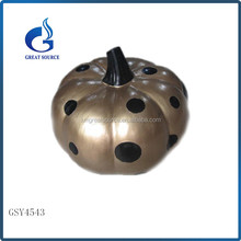 Halloween festival decoration ceramic pumpkin with dot wholesale