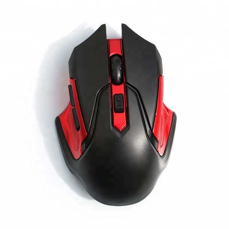 Elegant design gaming 6D wireless iron man mouse