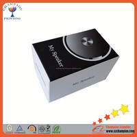 Black paper card gift box