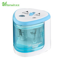 Electric double hole pencil sharpener automatic pencil sharpener for kids and holiday